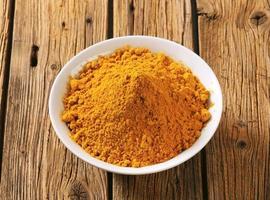 poudre de curry photo