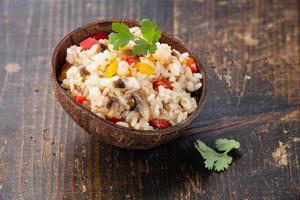 riz aux légumes