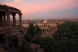temple hanuman à hampi photo