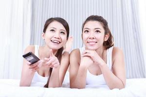 portrait de jeunes femmes asiatiques photo