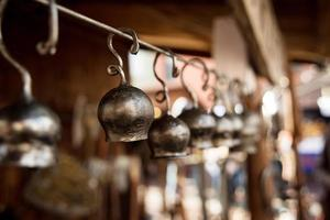 vieille cloche en métal photo