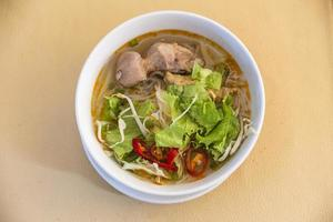 bun bo hue vietnam 06 2015 photo