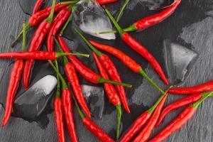 piment rouge chaud photo