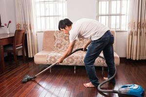plancher de nettoyage photo