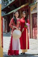 filles traditionnelles photo