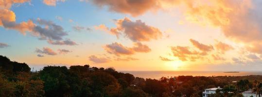 lever du soleil de san juan photo