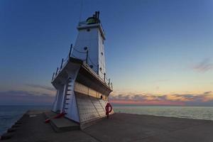 phare de ludington. photo