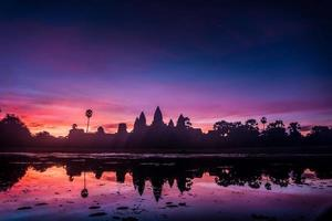 angkor wat au lever du soleil