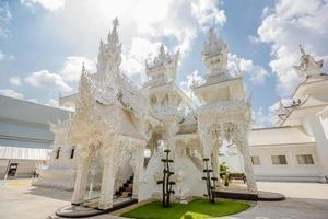 Temple de la Thaïlande - Wat Rong Khun de Chiangrai Thaïlande photo
