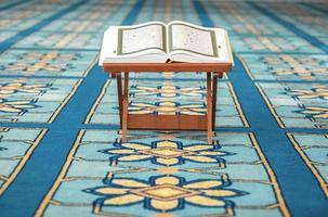 Coran dans la mosquée photo
