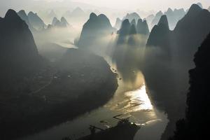 lever du soleil de lijiang