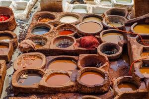 tannerie en cuir photo