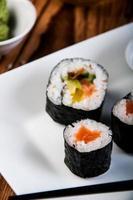 sushi oriental coloré photo