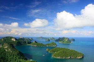 parc marin national d'ang thong, thaïlande photo