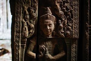 le temple de ta prohm photo