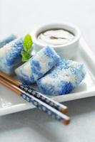 pulut tai tai, dessert malaisien