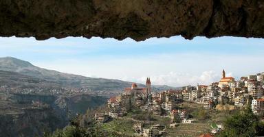 village libanais, bsharri