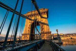pont à chaînes szechenyi photo