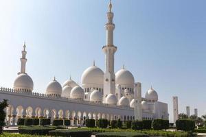 mosquée cheikh zayed à abu dhabi