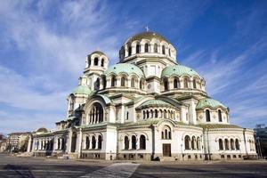 La cathédrale Alexandre Nevsky à Sofia, Bulgarie
