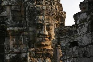 temple du bayon d'angkor thom au cambodge