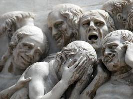 la cathédrale d'Orvieto. photo