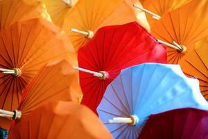 parapluies en papier photo