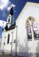 église, à, village, cernova, slovaquie photo