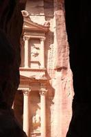 petra en jordanie photo