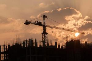 chantier de construction photo