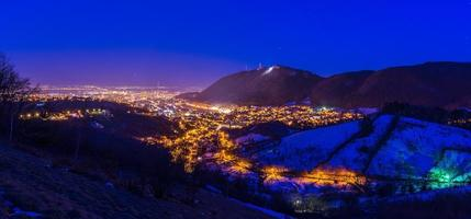brasov la nuit photo