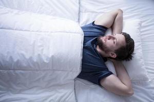 dormir après avoir essayé la journée