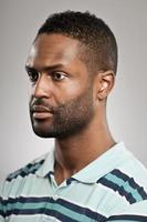 Portrait de profil 3/4 photo