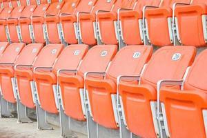 siège vip rouge photo