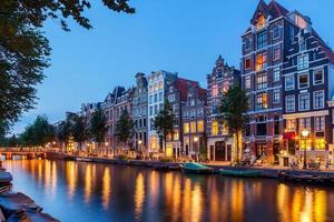 canaux d'Amsterdam. photo