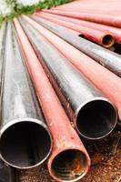 tubes d'acier