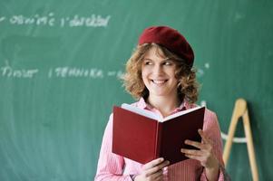 étudiant souriant photo