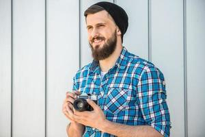 homme barbu photo