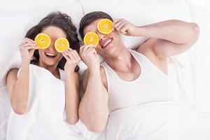 petit déjeuner au lit photo