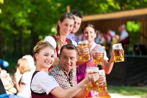 dans le jardin de la bière