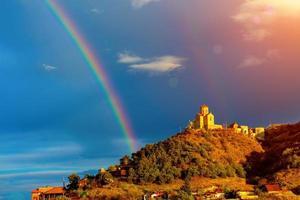 monastère de thabori à tbilissi, pays géorgie photo