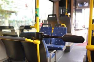 bus de route à dubai. photo