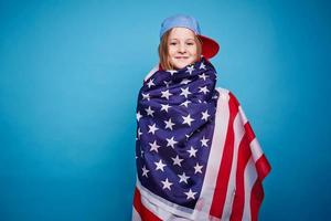 fille américaine photo
