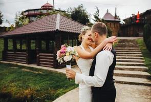un couple marié photo