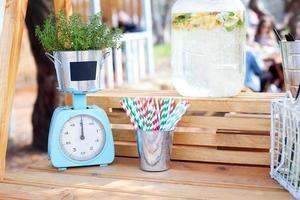 stand de limonade ensoleillée