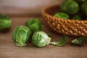choux de Bruxelles verts frais