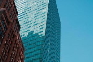 immeubles de grande hauteur au soleil