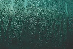 humidité sur verre photo