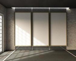 Rendu 3D de la salle de classe de style loft