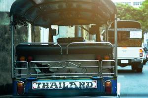 pousse-pousse automatique en Thaïlande photo